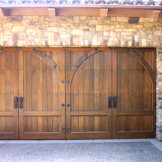 Contemporary Garage And Shed by Carriage House Door Company