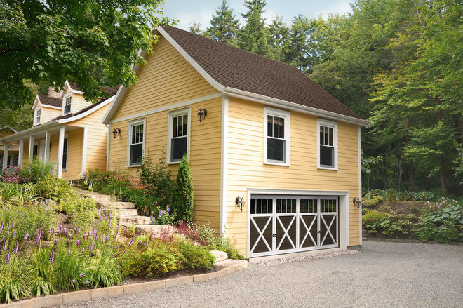 Traditional Garage by J&S Garage Doors