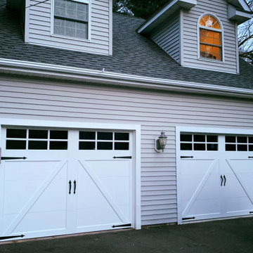 Carriage House Style Overlay Garage Doors
