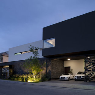 Inspiration for a contemporary carport in Other.