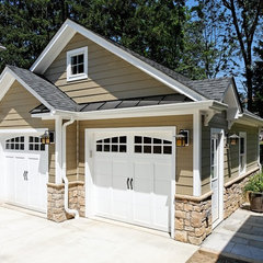 traditional garage and shed by Case Design/Remodeling, Inc.