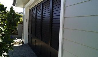 CDM Custom Wood Carriage Garage Door