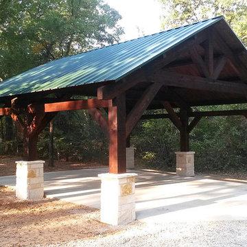 Cedar Carport In Pilot Point, Texas