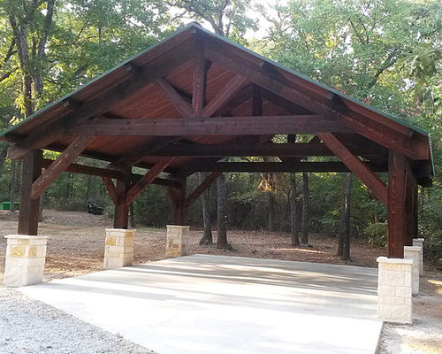 rustic carport ideas houzz