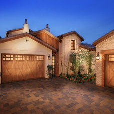 Mediterranean Garage And Shed by Celebrity Communities
