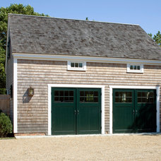 Beach Style Garage And Shed by Patrick Ahearn Architect