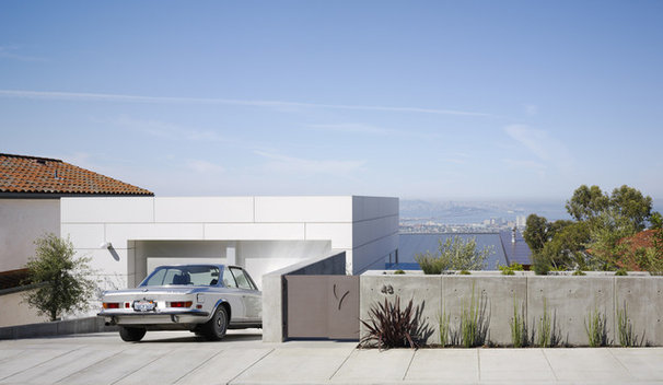 Contemporary Garage And Shed by Charles Debbas Architecture