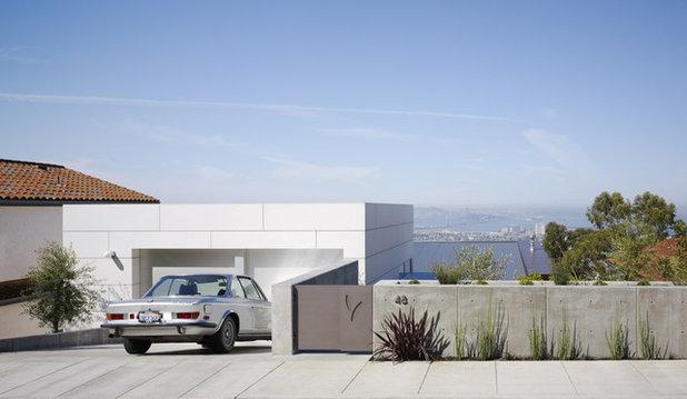 Modern Garage by Charles Debbas Architecture