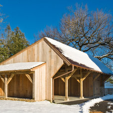 Traditional Garage And Shed Chester County Carriage Shed