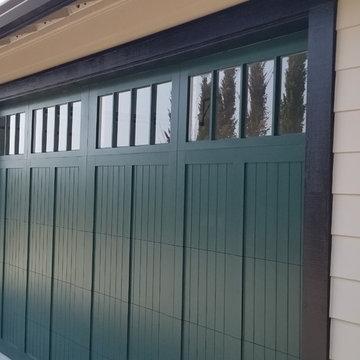 CHI Wood Overlay Garage Doors