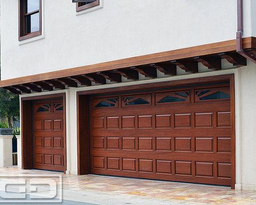 Manhattan Beach CA Custom Made Traditional Raised Panel Garage Doors ...