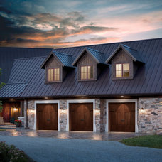 Traditional Garage And Shed by Hollywood Crawford Door Company