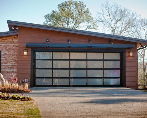Midcentury Clopay Garage Doors Home Design Ideas Amp Photos