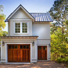 Beach Style Garage And Shed by Yestermorrow Homebuilders