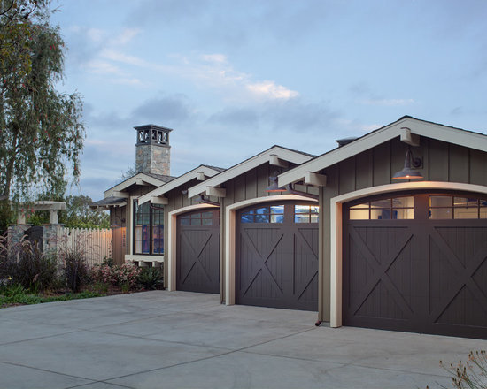 Barn Garage Doors barn-style garage door | houzz