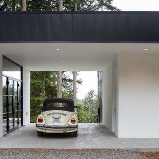 Immagine di garage e rimesse moderni