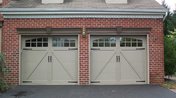 Completed Double Garages