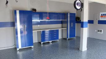 Completed Garage Floors