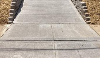 Concrete Driveway install