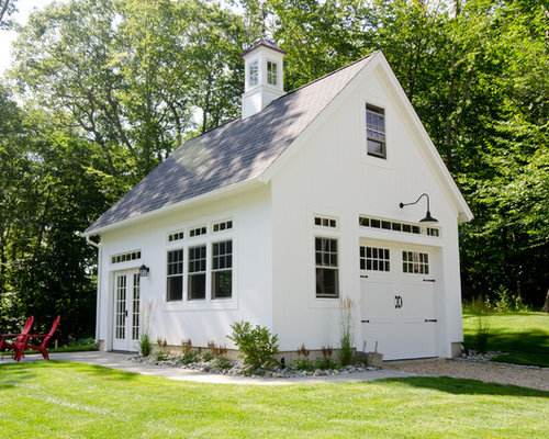 Farmhouse garage and shed design ideas pictures remodel for Farm garage plans