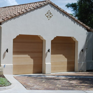 Contemporary Doors for a Mediterranean Style Home