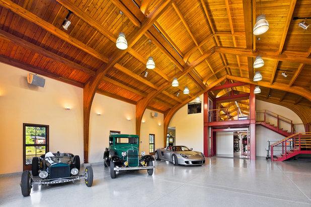 Klassisch Garage Contemporary Garage And Shed