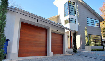 Contemporary Garage Doors in a Minimalist Style by Cowart Door Systems