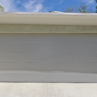 Photo of a mid-sized contemporary detached two-car carport in Los Angeles.