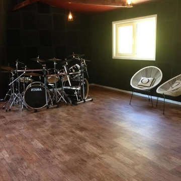 Converting a three car garage into a state of the art sound studio
