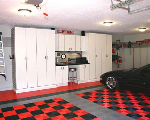 Inspiration For A Timeless Two Car Garage Remodel In Cincinnati