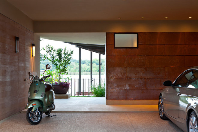 Modern Garage And Shed by Furman + Keil Architects