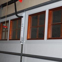 Cowart door cowart door custom wood on steel garage for R value of wood garage door