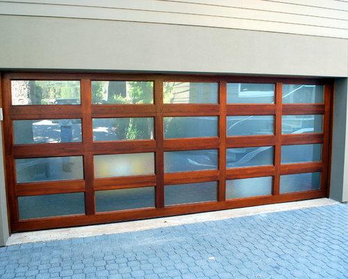 SaveEmail & Wood Garage Doors w/ Strong Horizontal/Vertical Designs Pezcame.Com