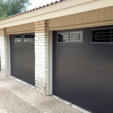 Cowart Door - Metal Clad Garage Doors with windows
