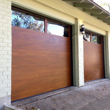 Cowart Door - Modern Wood Garage Doors