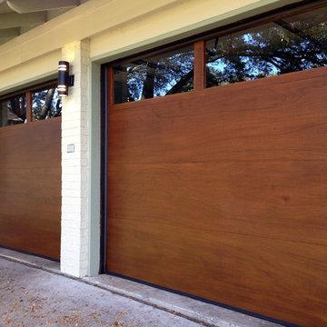 Cowart Door - Modern Wood Garage Doors