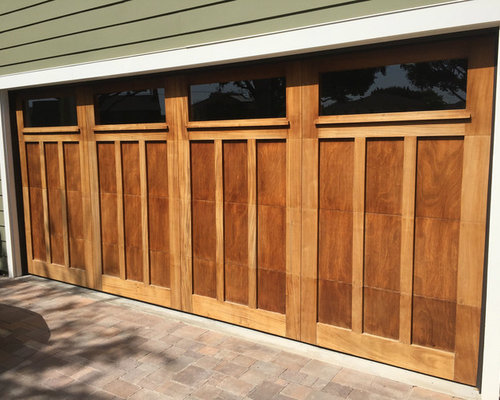 Craftsman style garage door for Craftsman style garage
