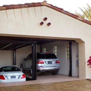 Exemple d'un garage méditerranéen.