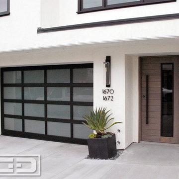 Custom Designed Entry Door System in San Francisco, CA | Unique Modern Doors