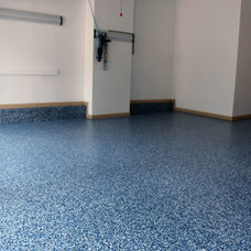 Industrial Garage And Shed by Diamond Cut Garage Floors