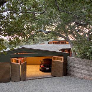Custom Garage, half open