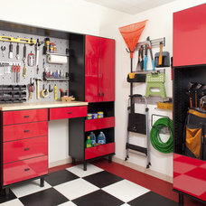 Modern Garage And Shed by The Closet Works, Inc.