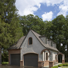 Traditional Garage And Shed by CBI Design Professionals, Inc.