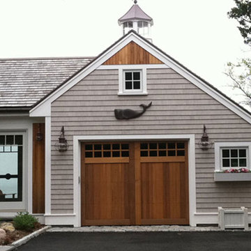 Custom Insulated Staingrade Wood Carriage House