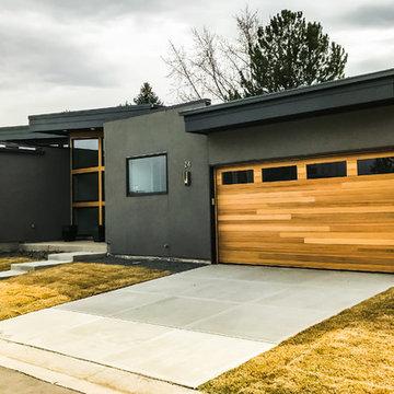 Custom Modern Wood Doors