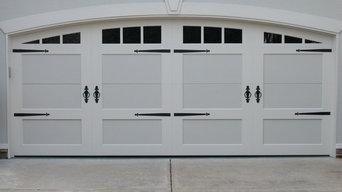 Custom Steel Carriage House Doors