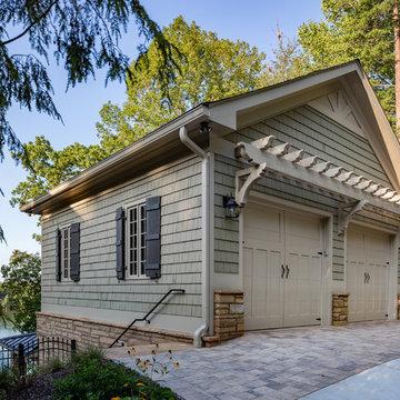 Custom Two Car Garage & Pool House