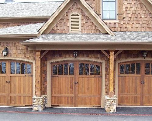 Craftsman carport design ideas remodels photos for Craftsman carport