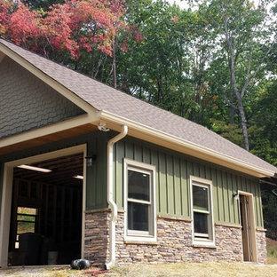 Dahlonega Rustic Mountain Home-Detached Garage & Amenity Area
