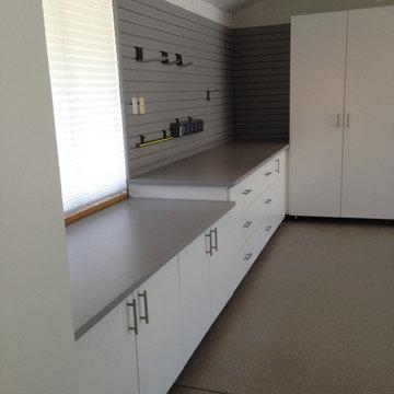 Deluxe White Wood Cabinets (Palo Alto, CA)